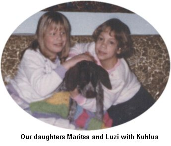 Maritsa and Luzi with Kuhlua